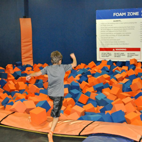 Sky Zone Foam Zone The Review Wire