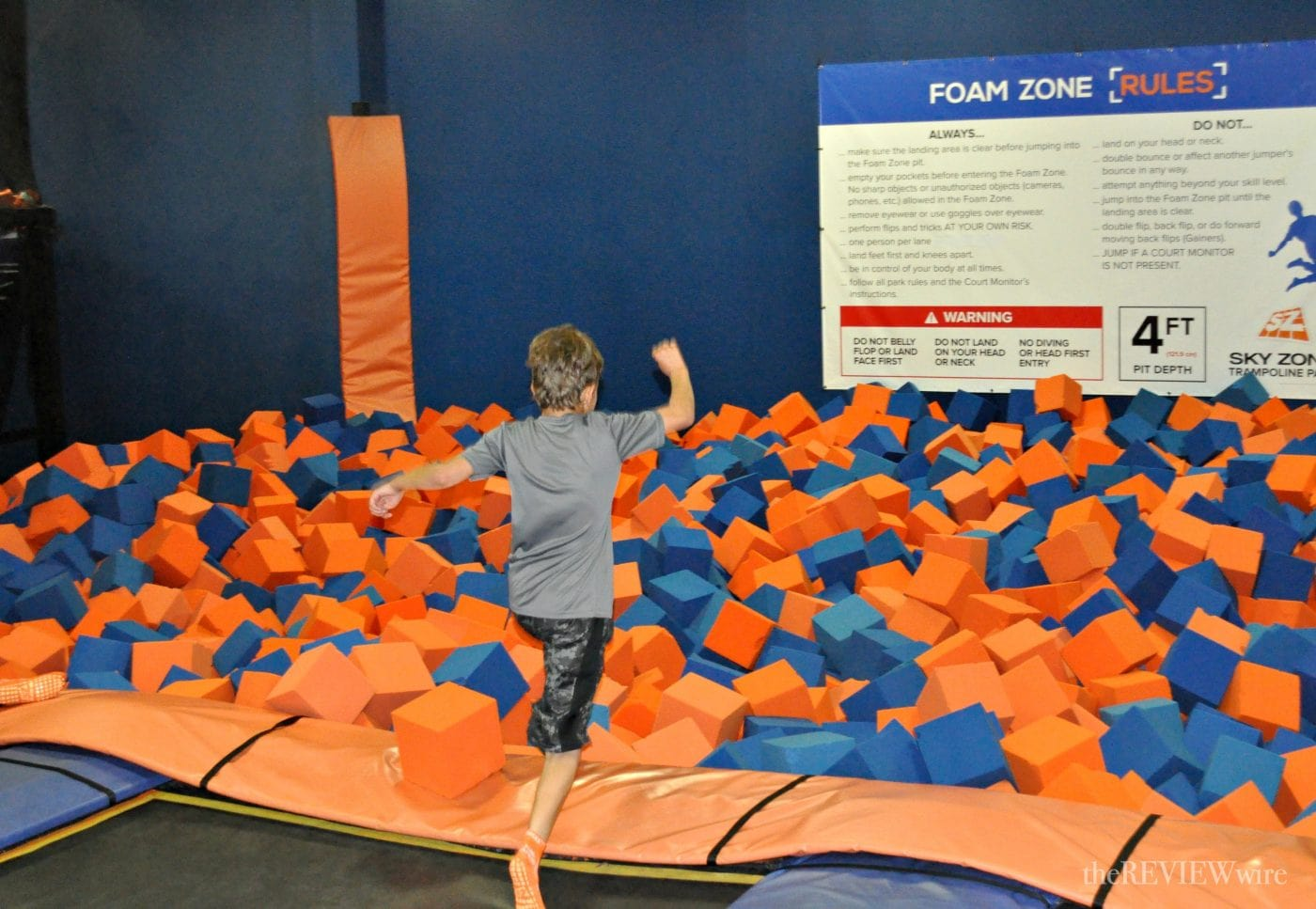 Sky Zone Foam Zone The Review Wire
