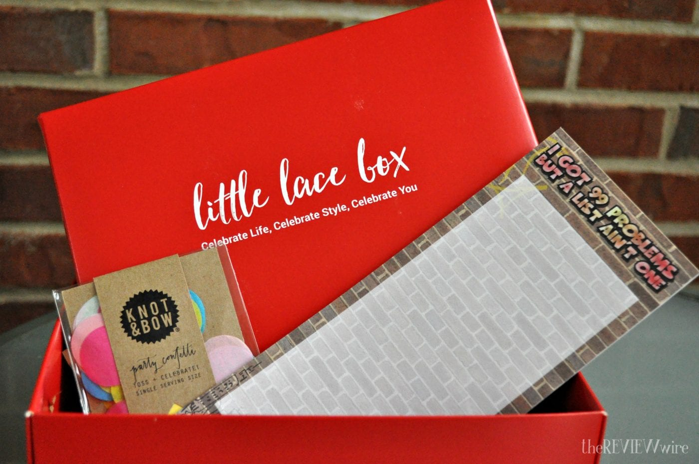 Stationary from Little Lace Box