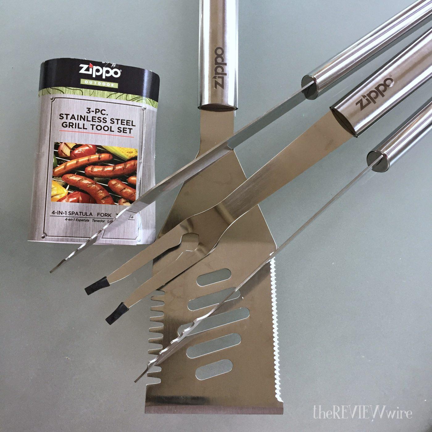 Zippo 3-Piece Grill Set