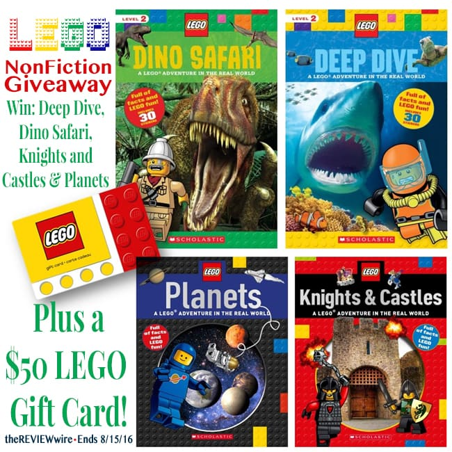 LEGO Nonfiction & Gift Card Giveaway