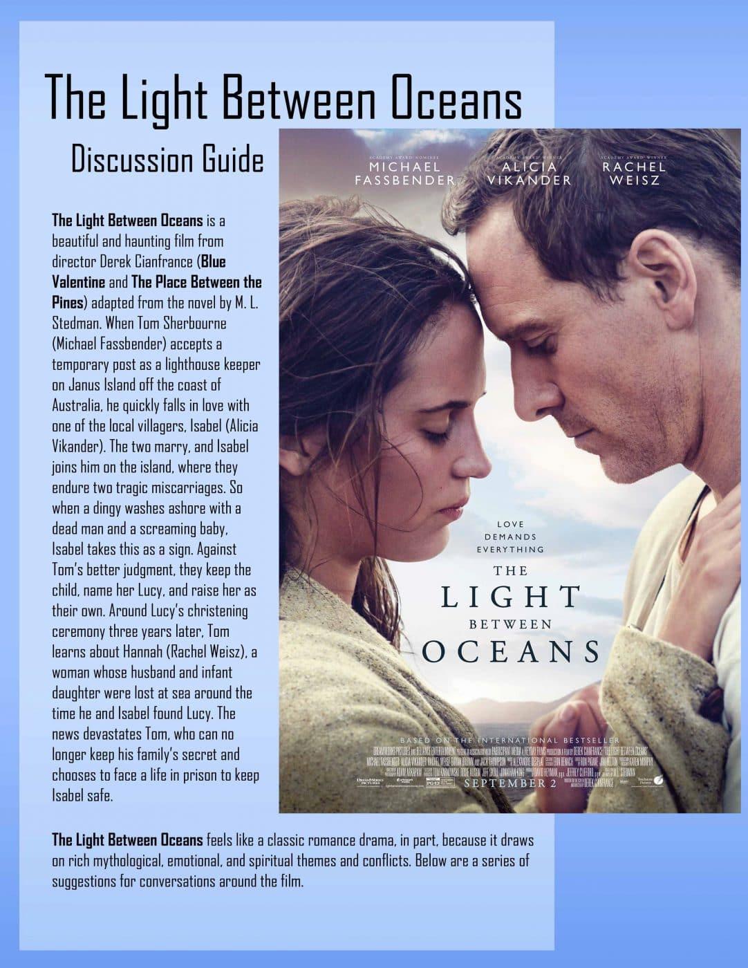 Light Between Oceans Guide