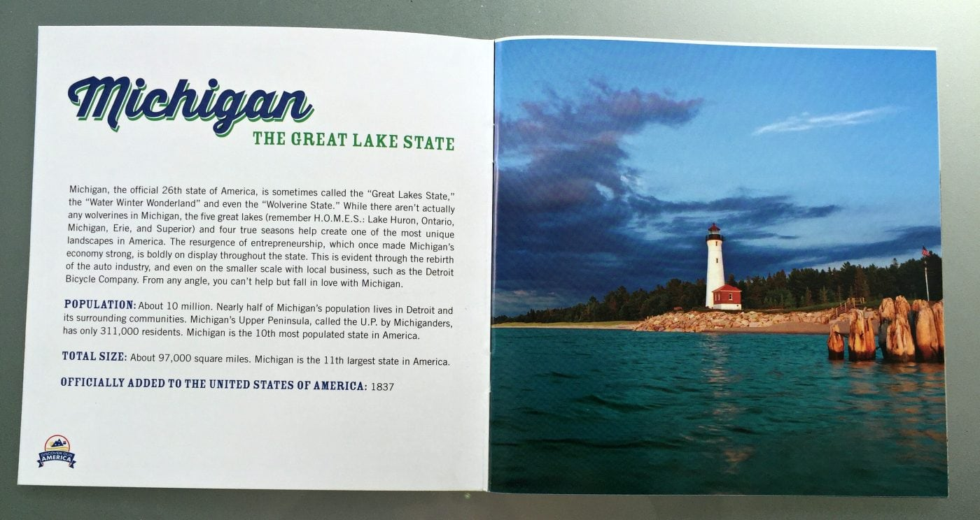Michigan Booklet Inside Look