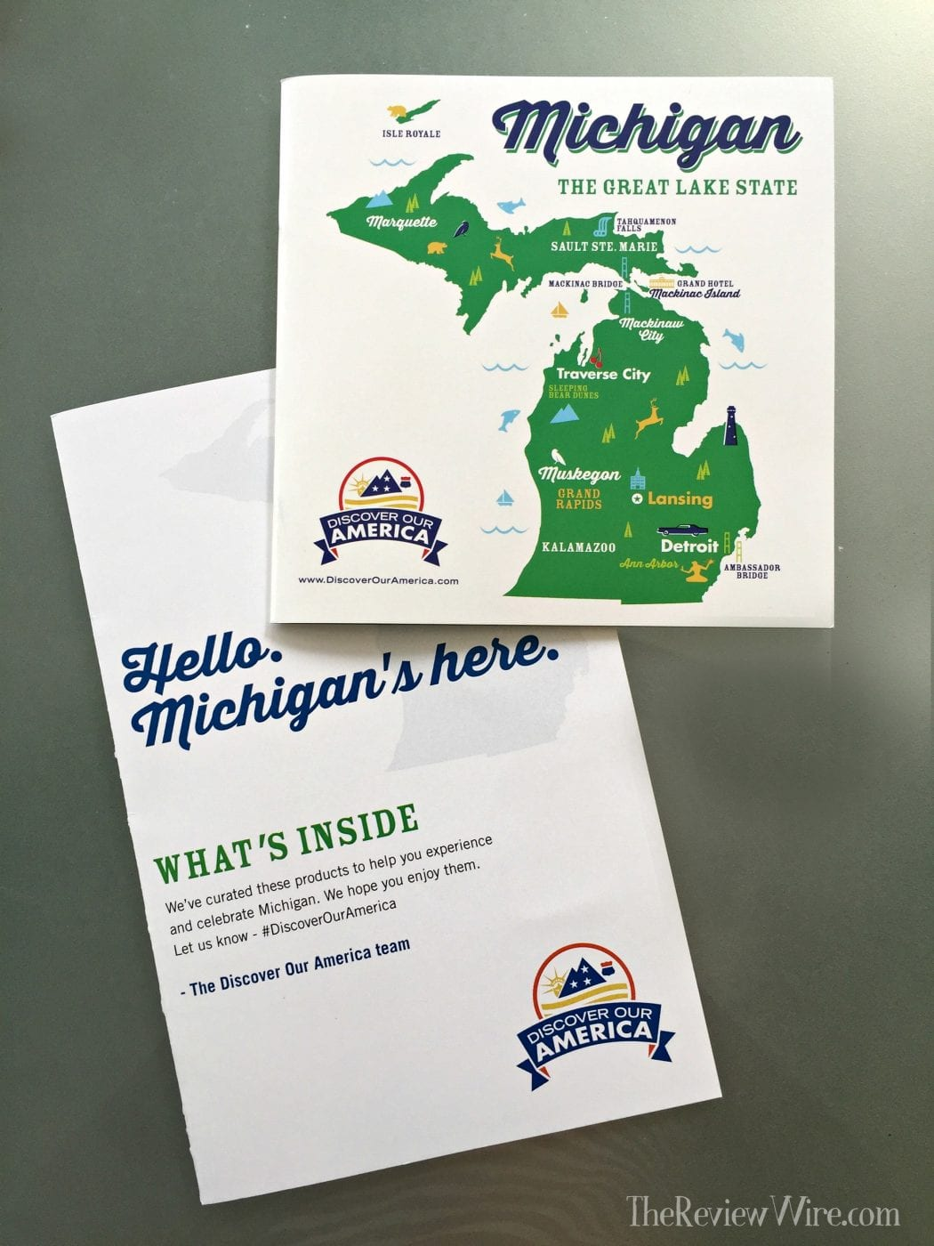 Michigan Discover our America Booklet