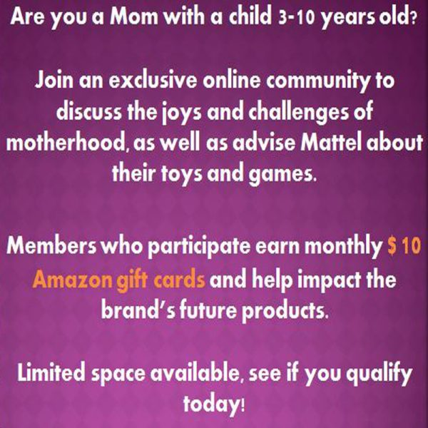 Join the Mattel Online Community
