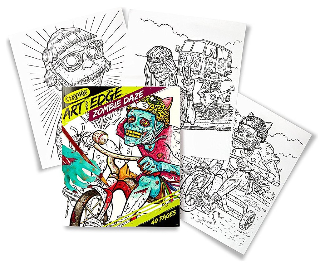 Art with Edge: Zombie Daze