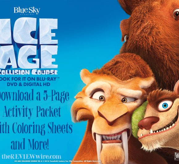 Ice Age Collision Course Activity Packet