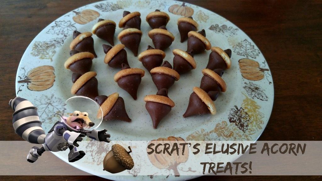 Scrat's Elusive Acorn Treats
