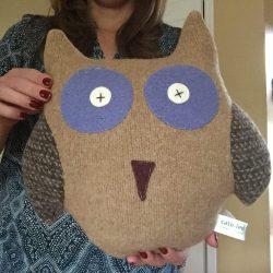 Cate & Levi Owl Pillow Pal
