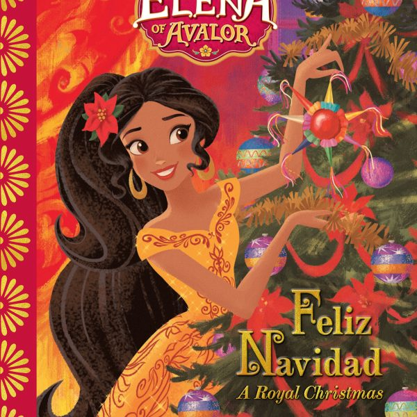 elena of avalor_feliz navidad cover