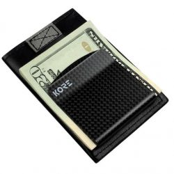 Kore Slim Wallet + Carbon Fiber Money Clip