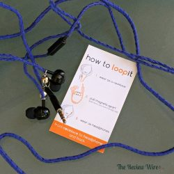 Loopit Blue Earbuds