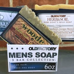 Old Factory Soap Men's Natural Soap Sampler