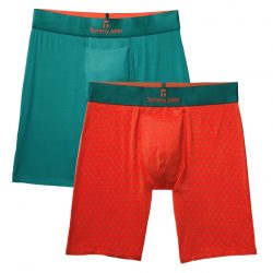 Tommy John Red & Green Boxer Set