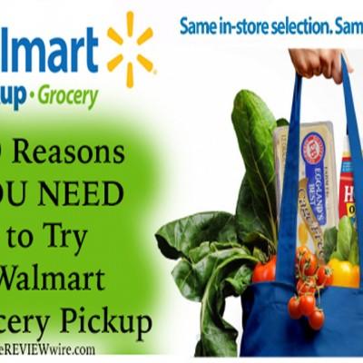 Walmart Curbside Grocery Pickup