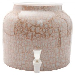Bluewave Marble Design Water Dispenser Crock