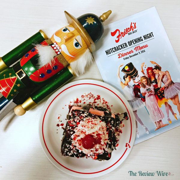 Frisch's Peppermint Hot Fudge Cake