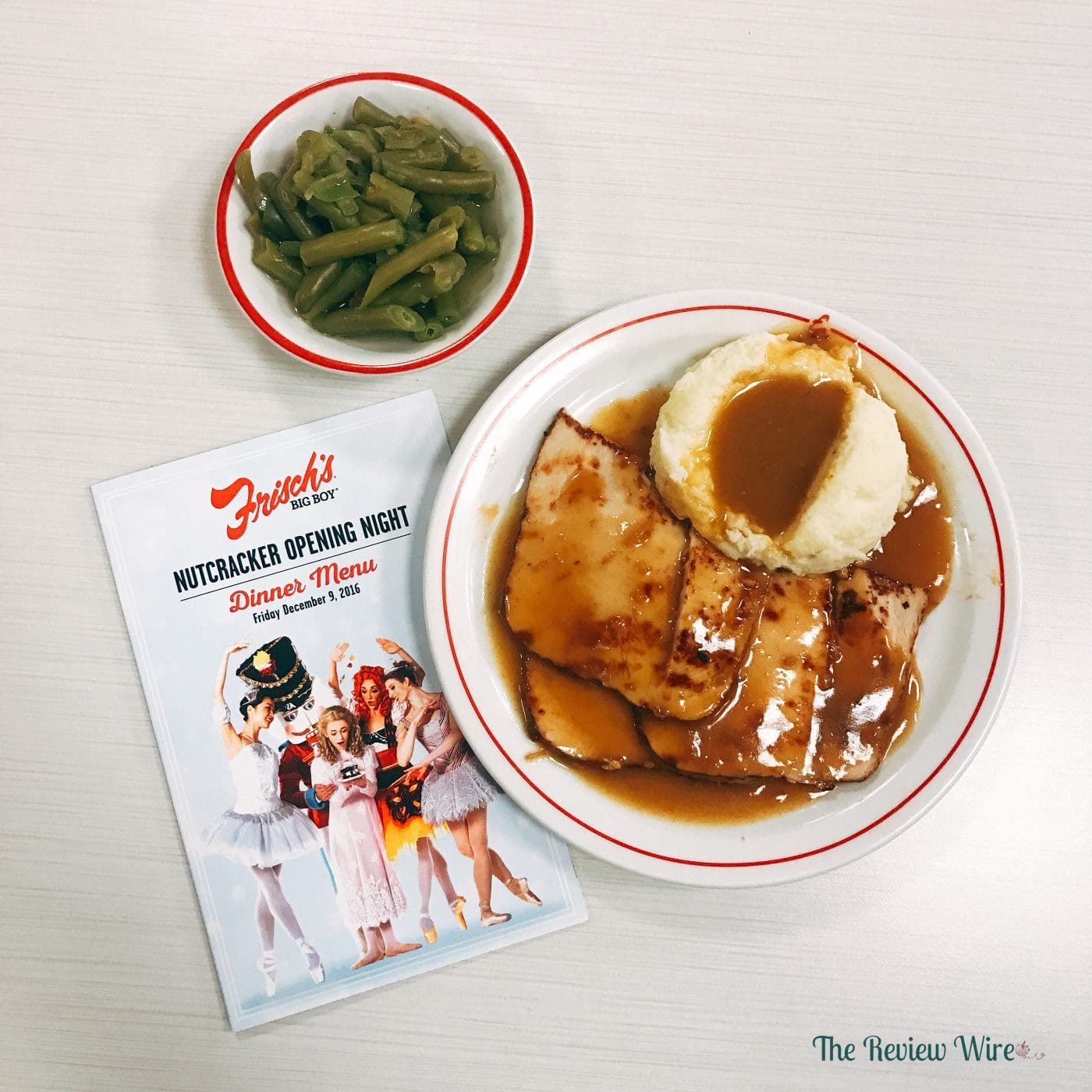 Frisch's Turkey Dinner