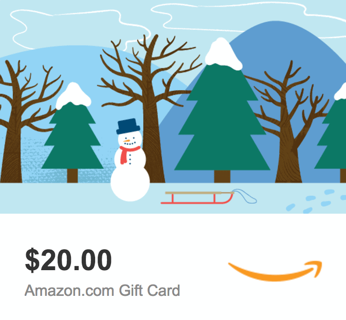 Amazon eGift Card Giveaway
