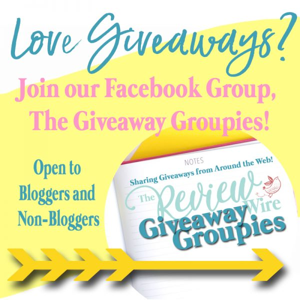 Join the Giveaway Groupies Facebook Button 2020