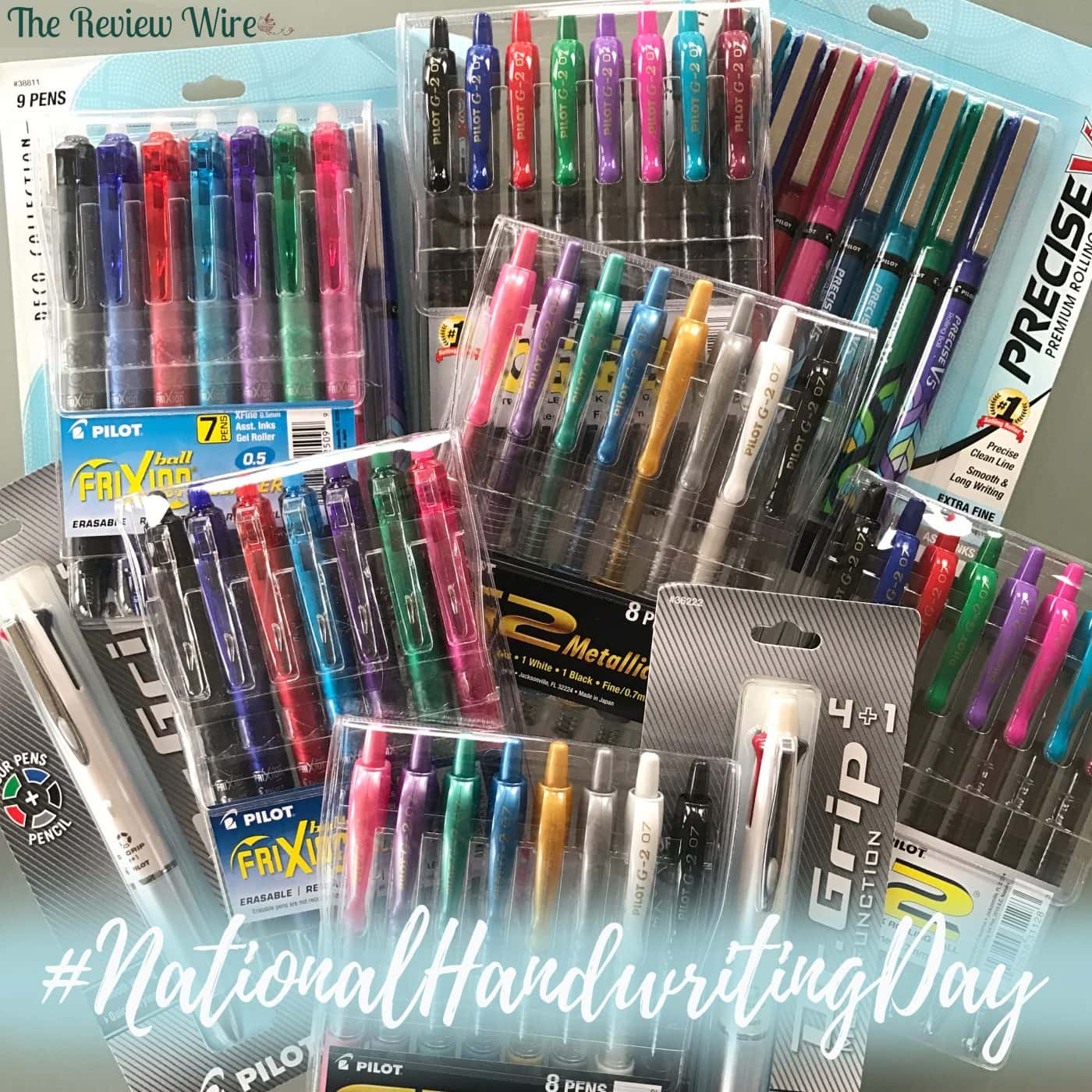 Pilot Pen_National Handwriting Day
