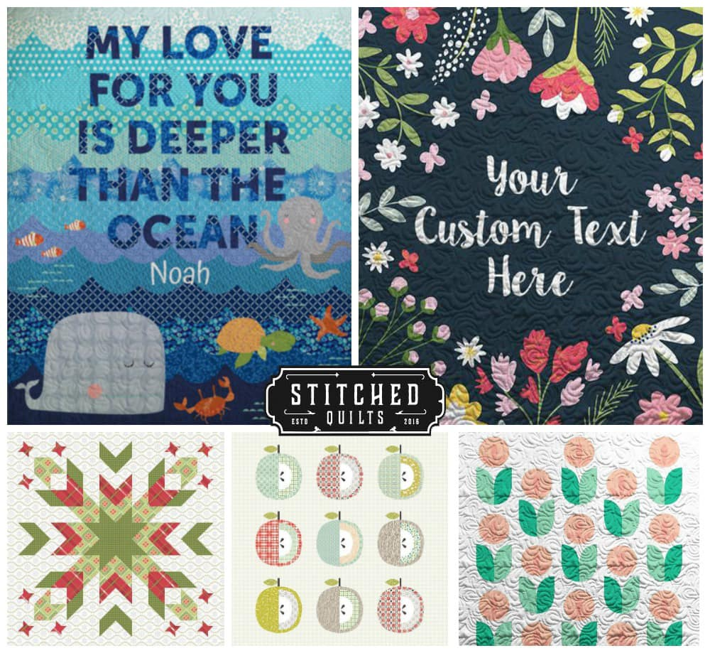 Stitched Quilts