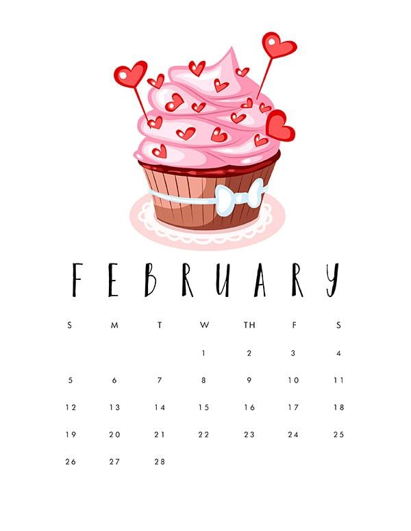 February 2017 Cupcake
