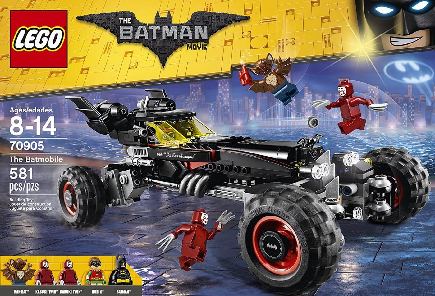 The LEGO Batman Movie Batmobile