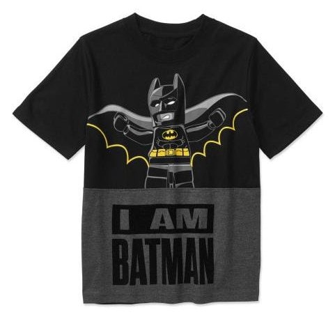 The LEGO Batman Movie I Am Batman Tee