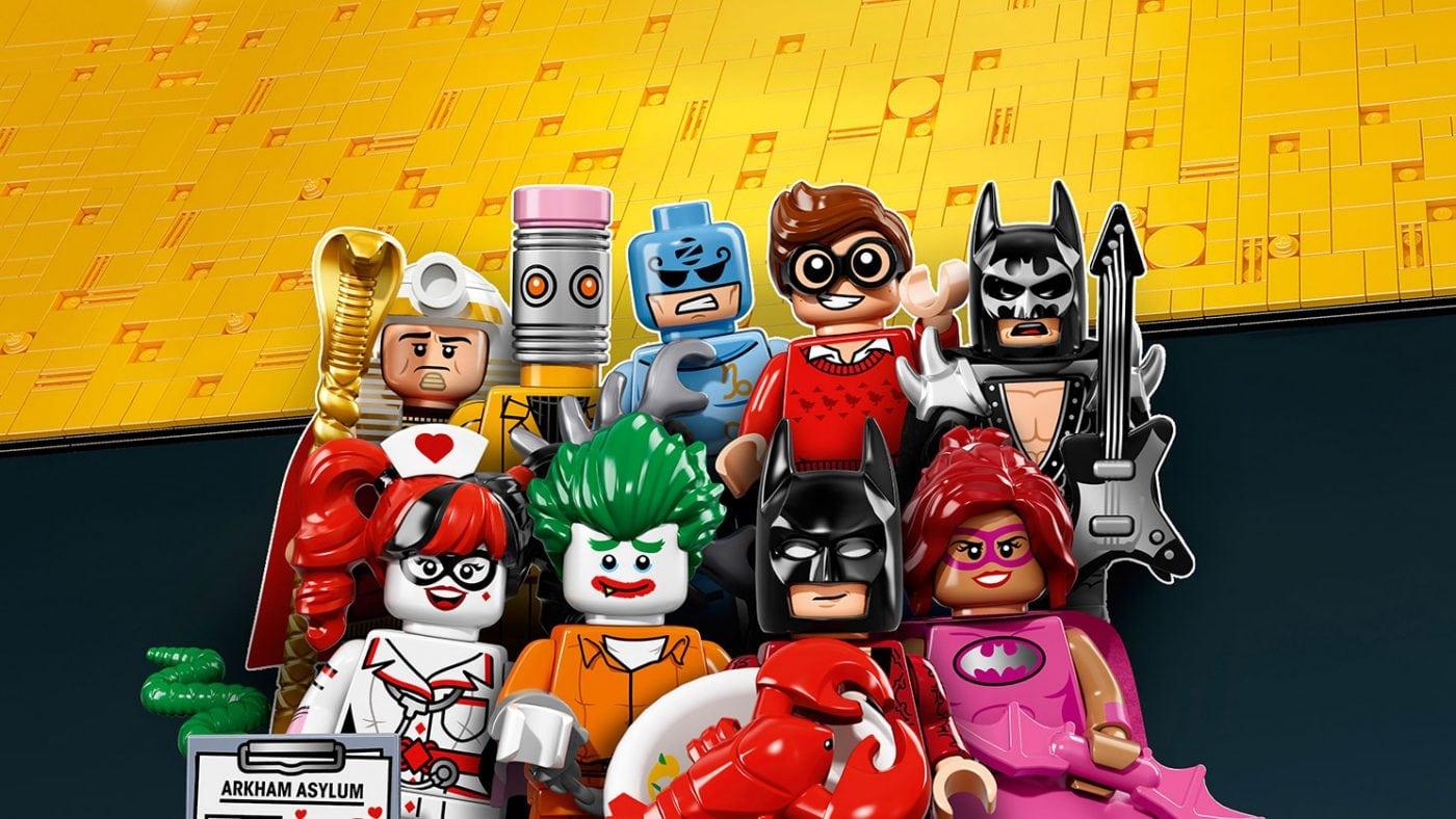 The LEGO Batman Movie Minifigures