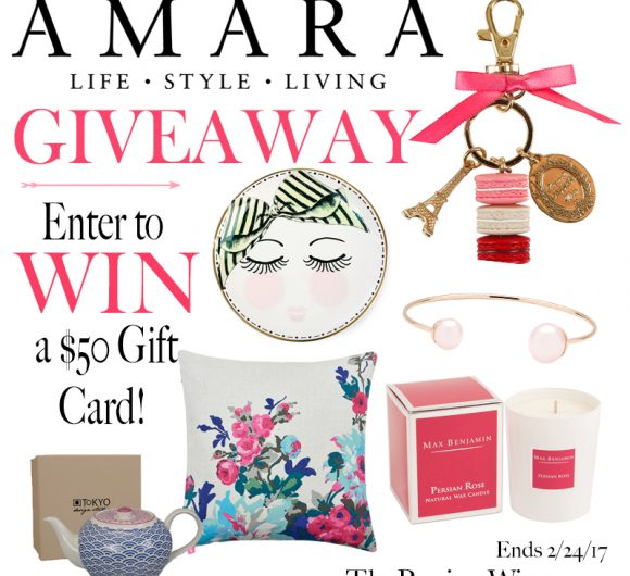 Amara Giveaway