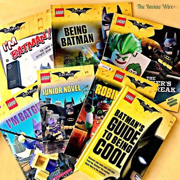 Scholastic LEGO Batman Books
