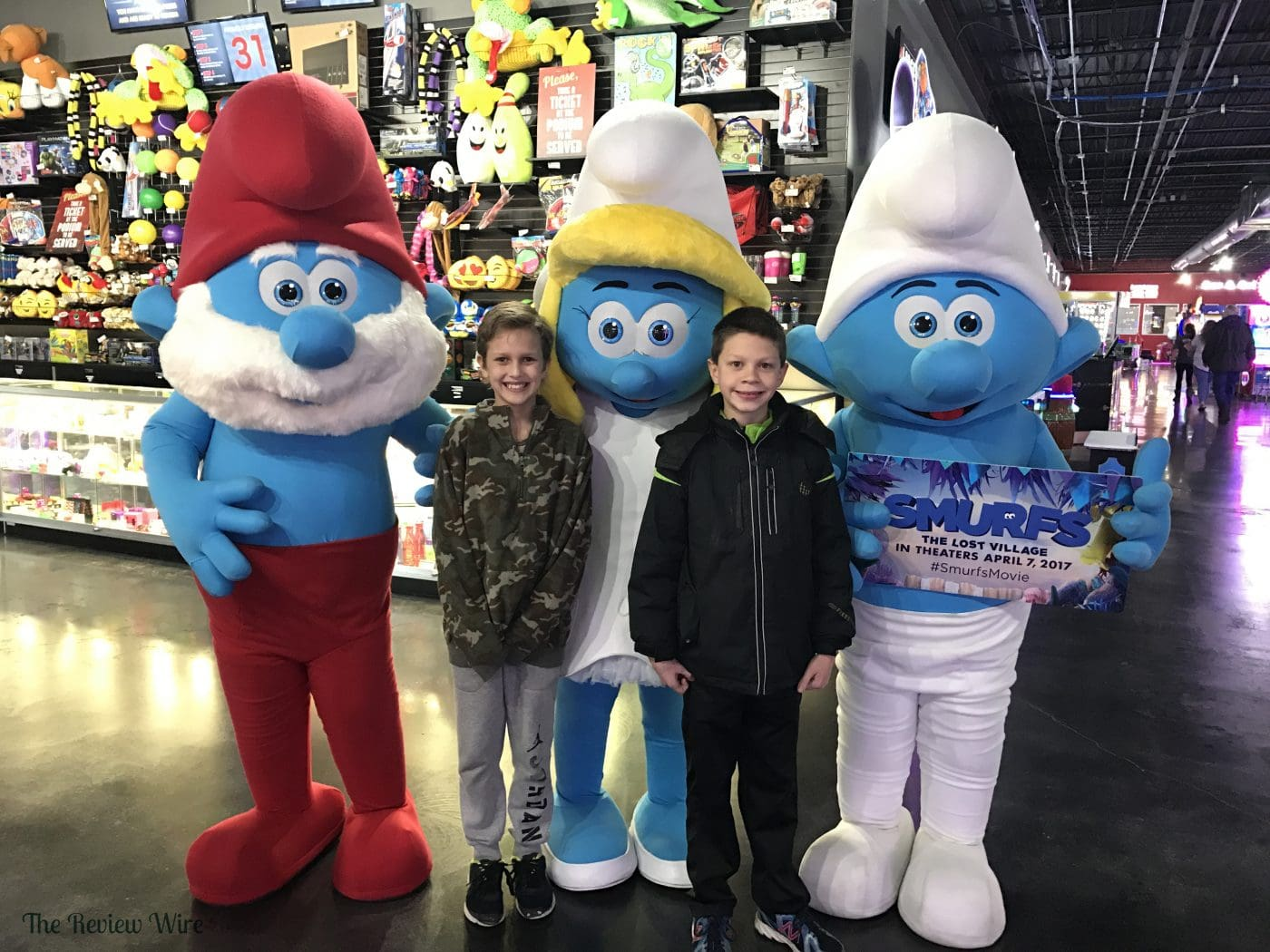 SMURFS Meet and Greet