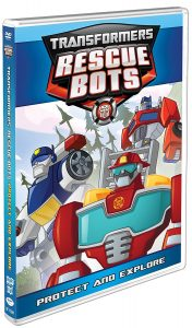Transformers Rescue Bots Protect and Explore
