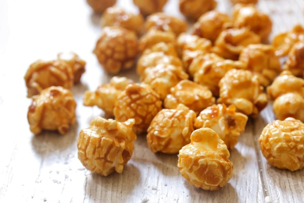 Instant Pot Caramel Corn from Recipe This