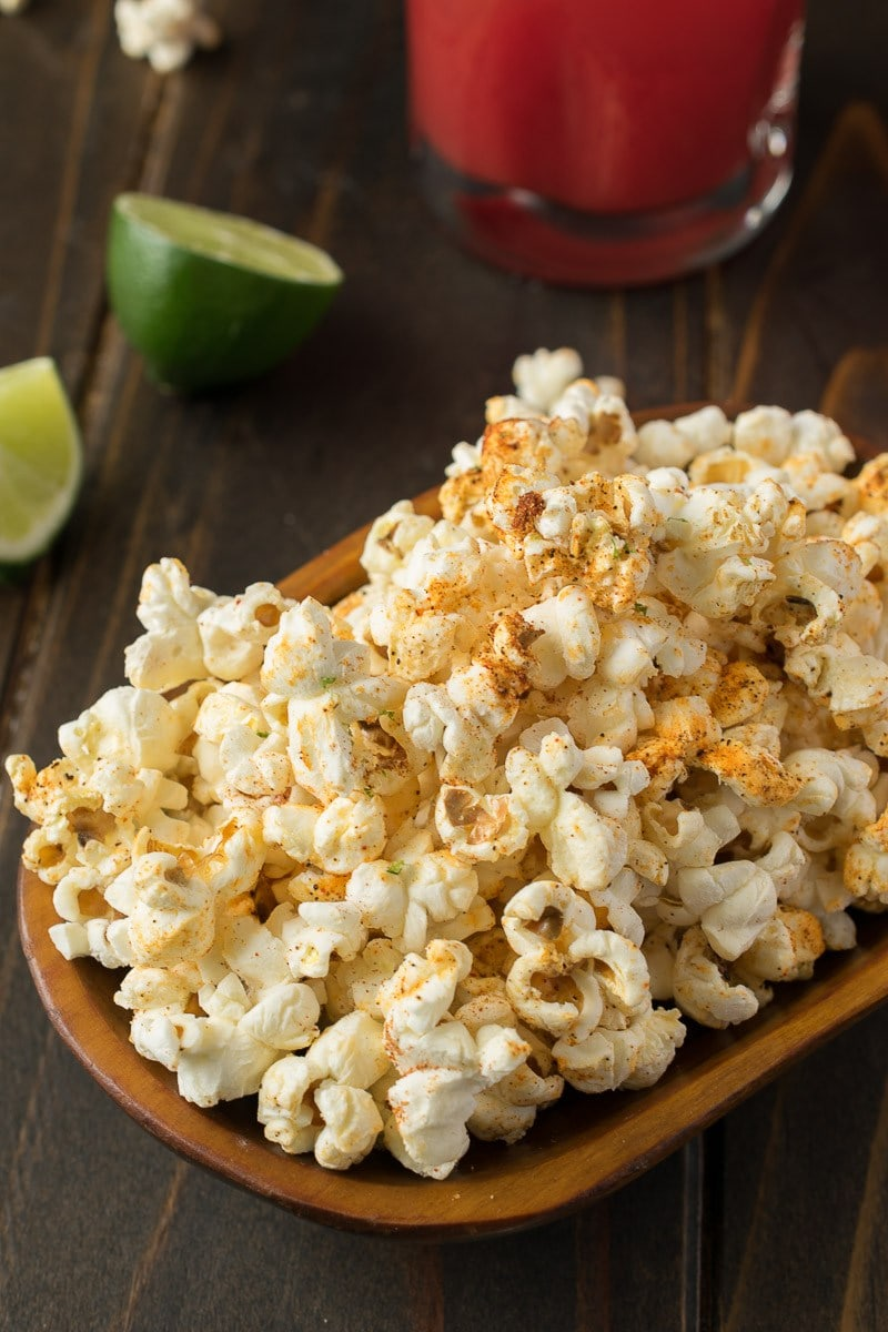 Mexican Popcorn from Culinary Ginger