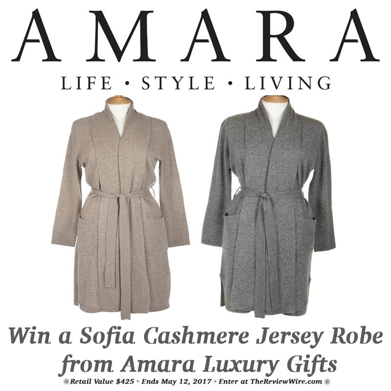 Amara Robe Giveaway