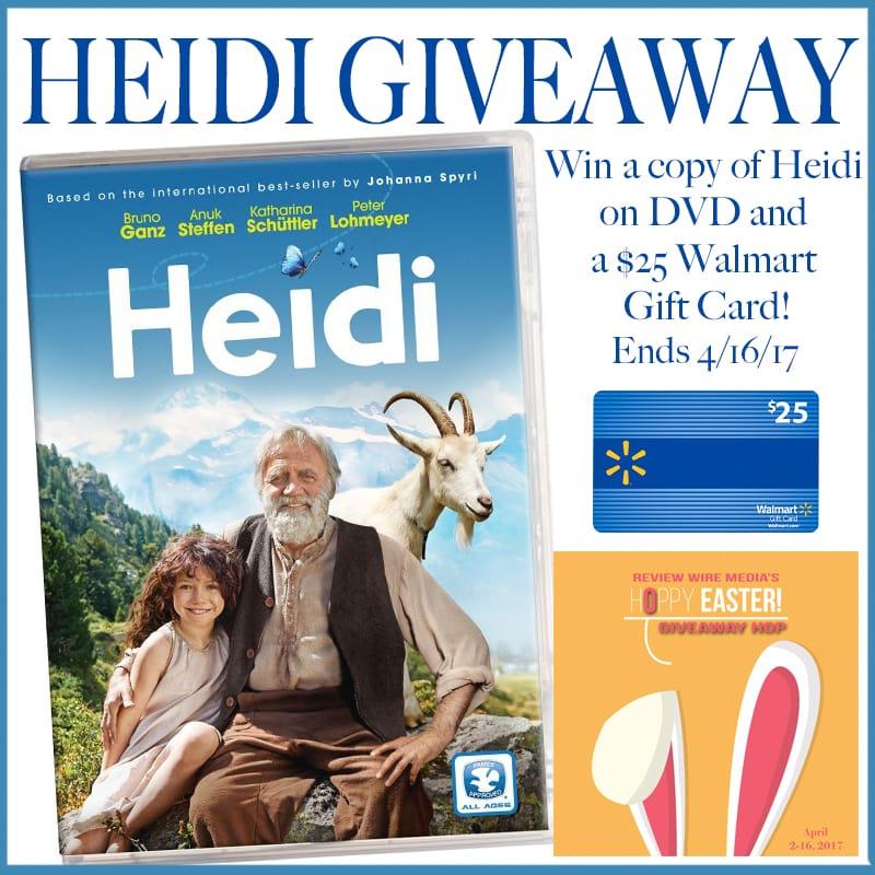 Heidi Giveaway