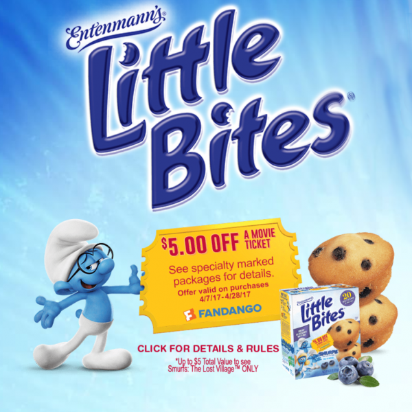 Little Bites and SMURFS Movie