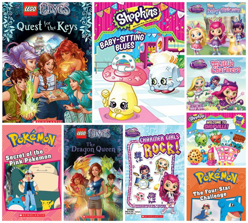 Scholastic Girls Books