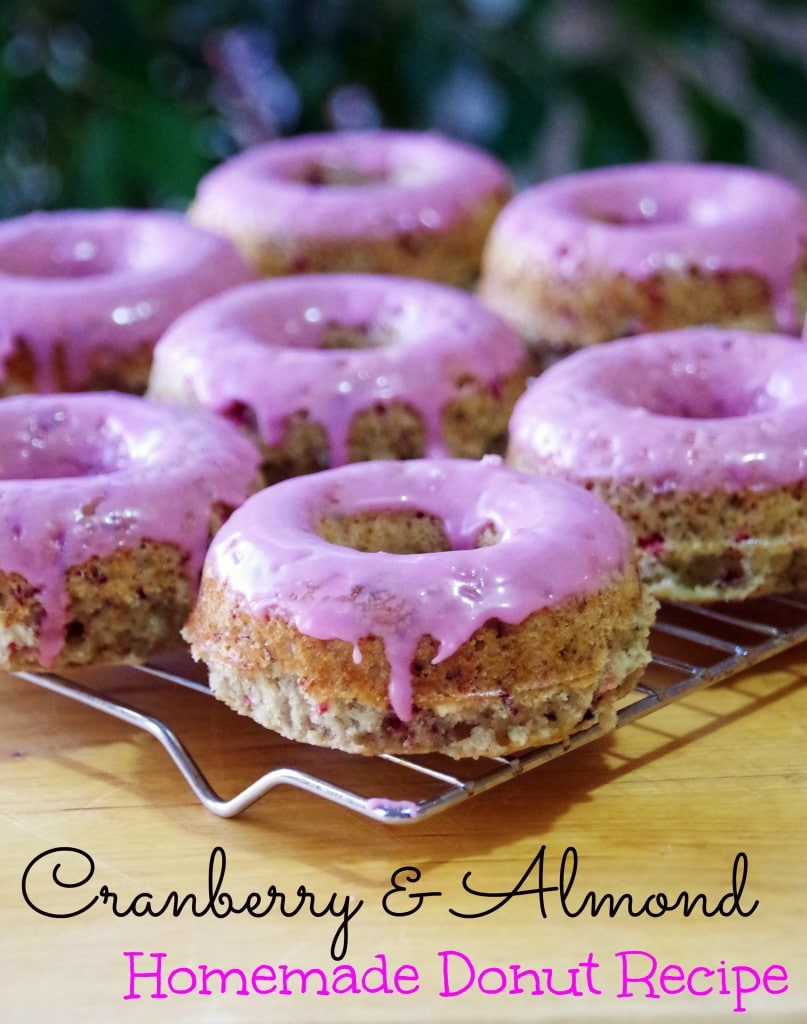 Suburbia-Unwrapped: Cranberry Almond Donut