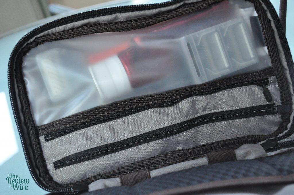 Victorinox Slimline Toiletry Kit Inside Zipper Pouch
