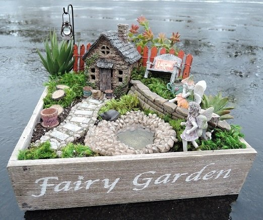 Fairy Garden Chest