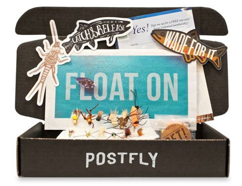 Postfly Box monthly subscription