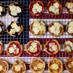 Mini Red, White & Blue American Pies