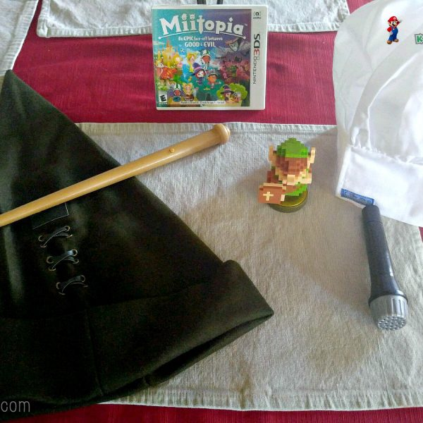 Miitopia 3DS Kid Reviewer Package
