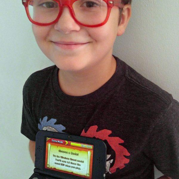 Nintendo 3DS Galaxy Kid Reviewer