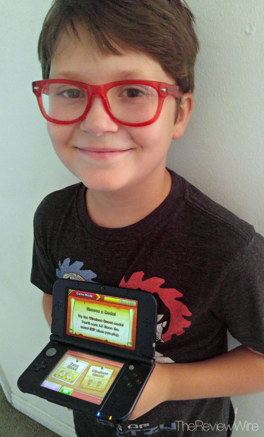 Nintendo 3DS Galaxy Kid Reviewer