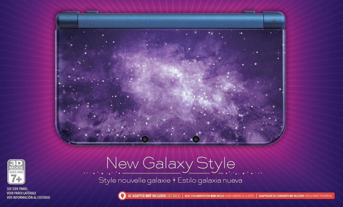 Nintendo New 3DS XL - Galaxy Style