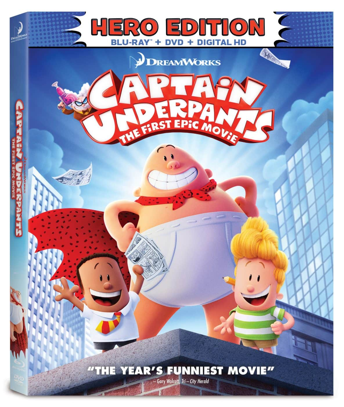 Captain Underpants Blu-ray + DVD